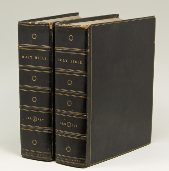 The Holy Bible, According to the Authorized Version; With Notes, Axplanatory and Practical; Taken Principally from the Most Eminent Writers of the United Church of England and Ireland. Bible.