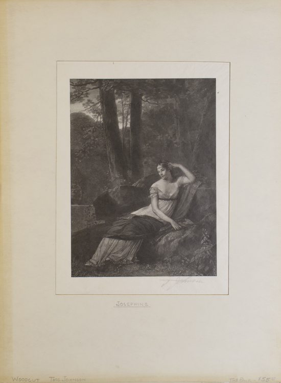 Wood Engravings: Napoleon & Josephine. Thomas Johnson.