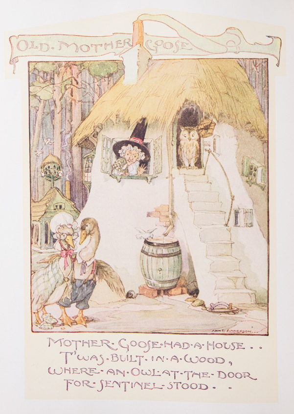 The Old Mother Goose Nursery Rhyme Book. Mother Goose.