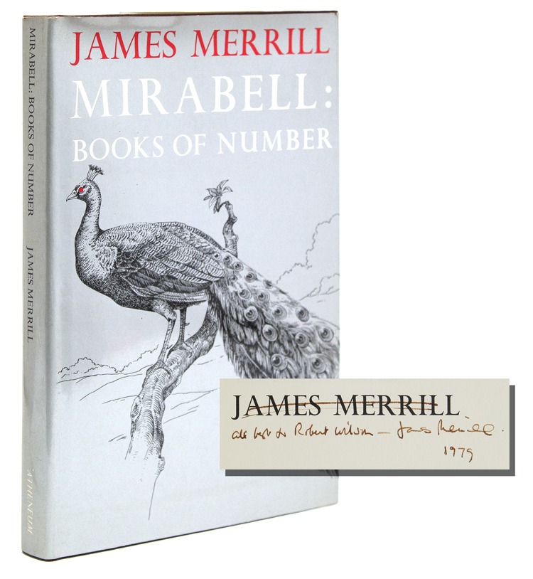 Mirabell: Books of Number. James Merrill.