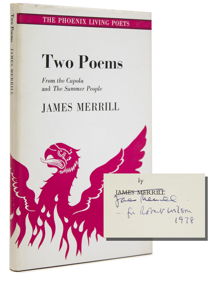 Two Poems: From the Cupola and The Summer People. James Merrill.