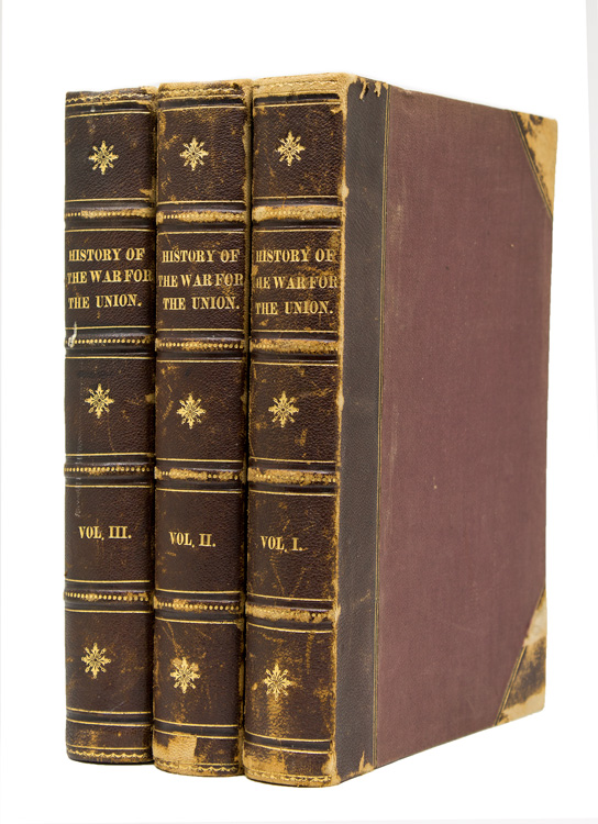 National History of the War for the Union, Civil, Military and Naval: Founded on Official and Other Authentic Documents. Edward A. Duyckinck.