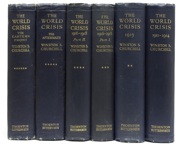The World Crisis. Winston Churchill.