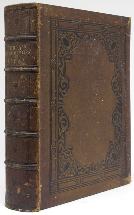Narrative of the Expedition of an American Squadron to the China Seas and Japan. Performed in the years 1852, 1853, and 1854, under the command of Commodore M.C. Perry, United States Navy, by order of the Government of the United States ...compiled from the original notes and journals of Commodore Perry and his Officers, at his request and under his supervision, by Francis L. Hawks. Matthew Calbraith Perry.