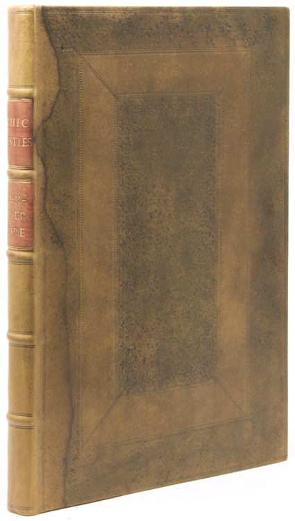 Bound volume containing 10 works, 6 by Pope and 4 by friends and followers. Alexander Pope, et. al.