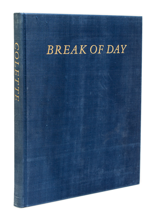 Break of Day. Translated by Enid McLeod; Introduction by Robert Phelps. Sidonie-Gabrielle Claudine Colette.