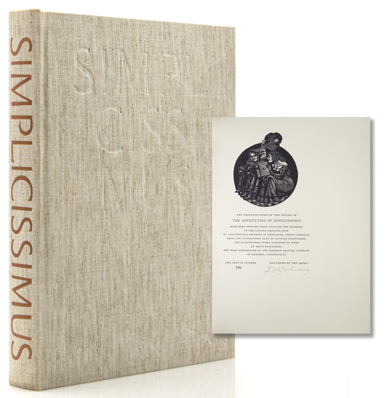 The Adventures of Simplicissimus. A new translation by John P. Spielman. Johann Jakob Christoffel von Grimmelshausen.