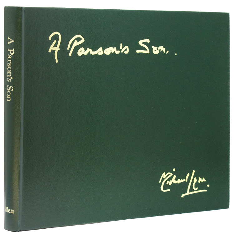 A Parson's Son. Sporting Artist. Written and Illustrated by Michael Lyne. Michal Lyne.