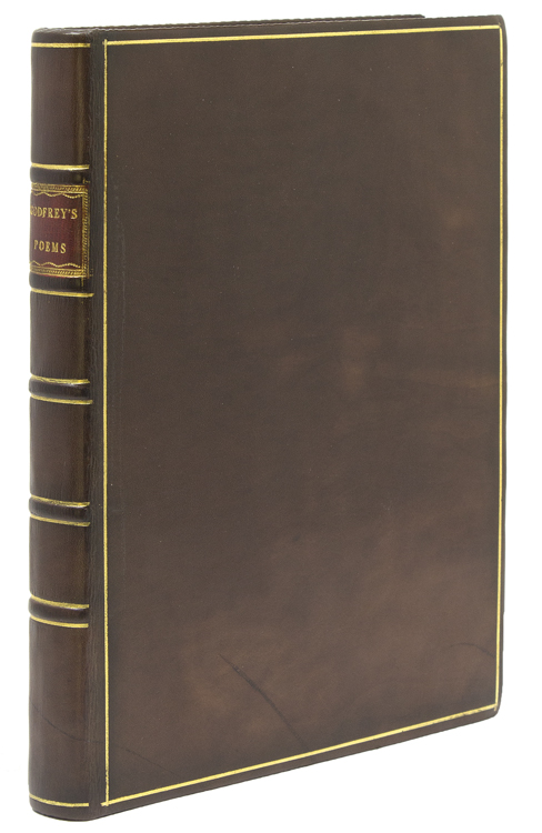 Juvenile Poems of Various Subjects. With the Prince of Parthia: A Tragedy by the late Mr. Thomas Godfrey, Jun. of Philadelphia. To which is Prefixed some Account of the Author and his Writings. Thomas Godfrey.
