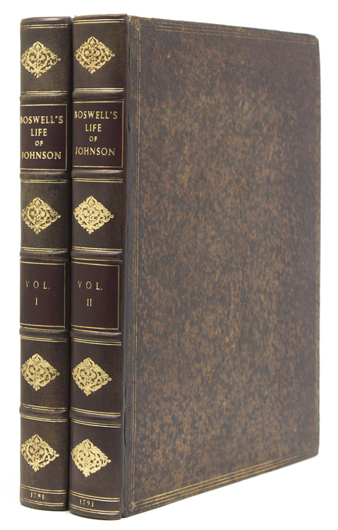 The Life of Samuel Johnson, LL.D … in Two Volumes. James Boswell.
