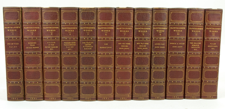 The Complete Works of... With Introductory Notes by George Parsons Lathrop. In Twelve Volumes. Nathaniel Hawthorne.