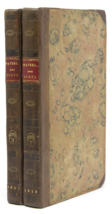 Waverley; or, 'Tis Sixty Years Since … Three Volumes in Two. Sir Walter Scott.