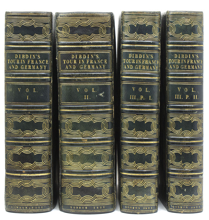 A Bibliographical Antiquarian and Picturesque Tour in France. T. F. Dibdin.