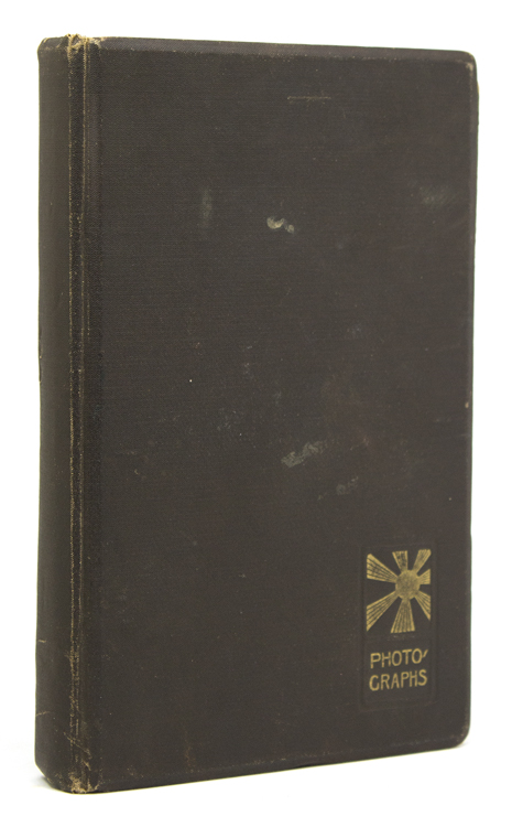 Bound volume containing 48 original photographs of mining activities in northern China, and transport there on the Trans-Siberian Railroad and through Manchuria. Anon.