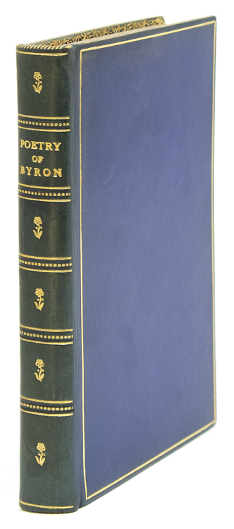 Poetry of Byron. Chosen and Arranged by Matthew Arnold. Lord Byron, George Gordon.