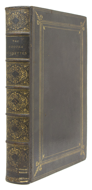 The Cooper Vignettes. From drawings by F.O.C. Darley. India proofs before letters. James Fenimore Cooper, F. O. C. Darley.