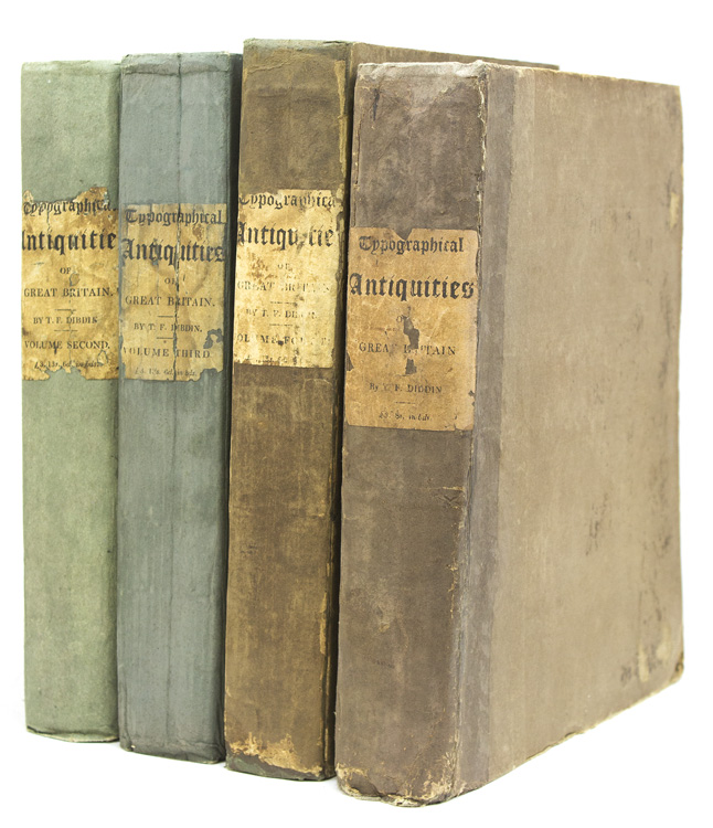 Typographical Antiquities: Or the History of Printing in England, Scotland, and Ireland: Containing Memoirs of Our Ancient Printers, and a Register of the Books Printed by Them. Begun by the late Joseph Ames … Considerably augmented by William Herbert … And now greatly enlarged … by the Rev. Thomas Frognall Dibdin. Thomas Frognall Dibdin.