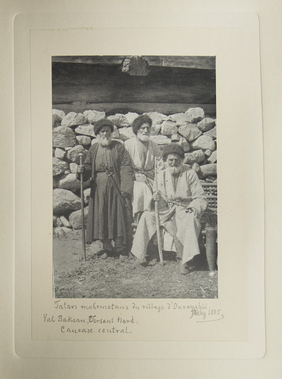 Photographs of the Caucasus. Maurice de Déchy.