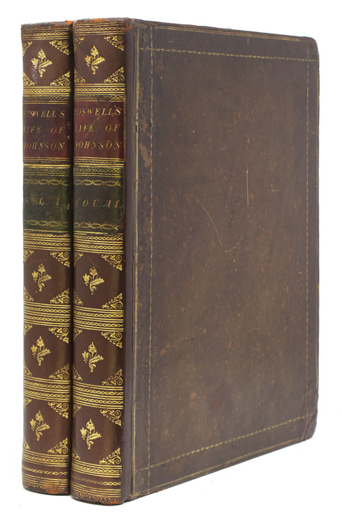 The Life of Samuel Johnson, LL.D.…in Two Volumes. James Boswell.
