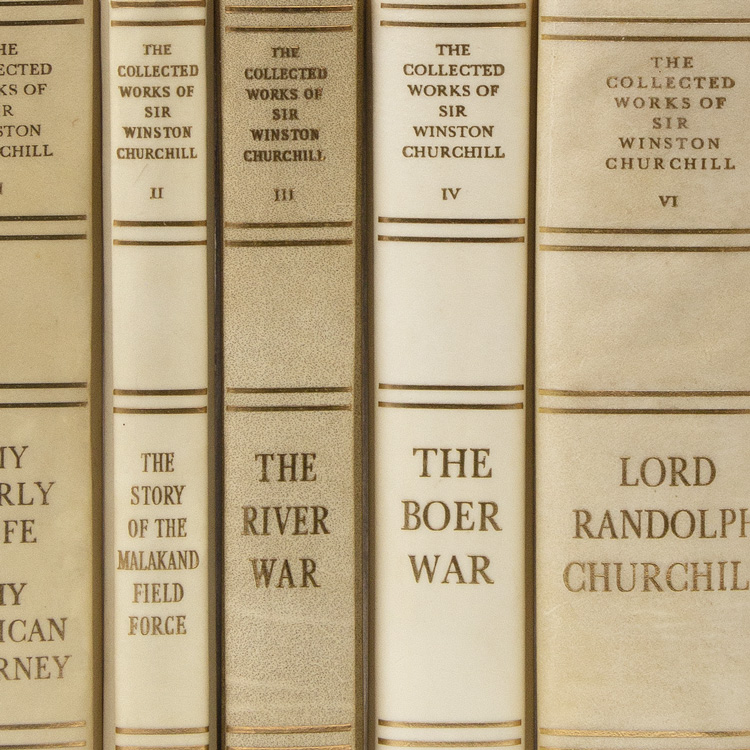 The Collected Works of. Winston Churchill.