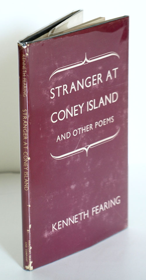 Stranger At Coney Island And Other Poems By Kenneth Fearing On James Cummins Bookseller