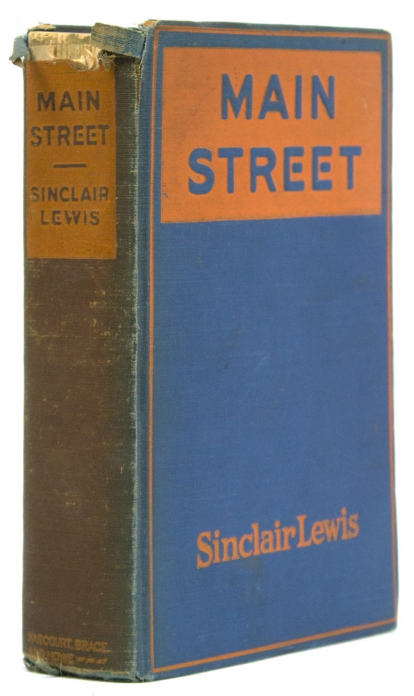 Main Street. The Story of Carol Kennicutt. Sinclair Lewis.