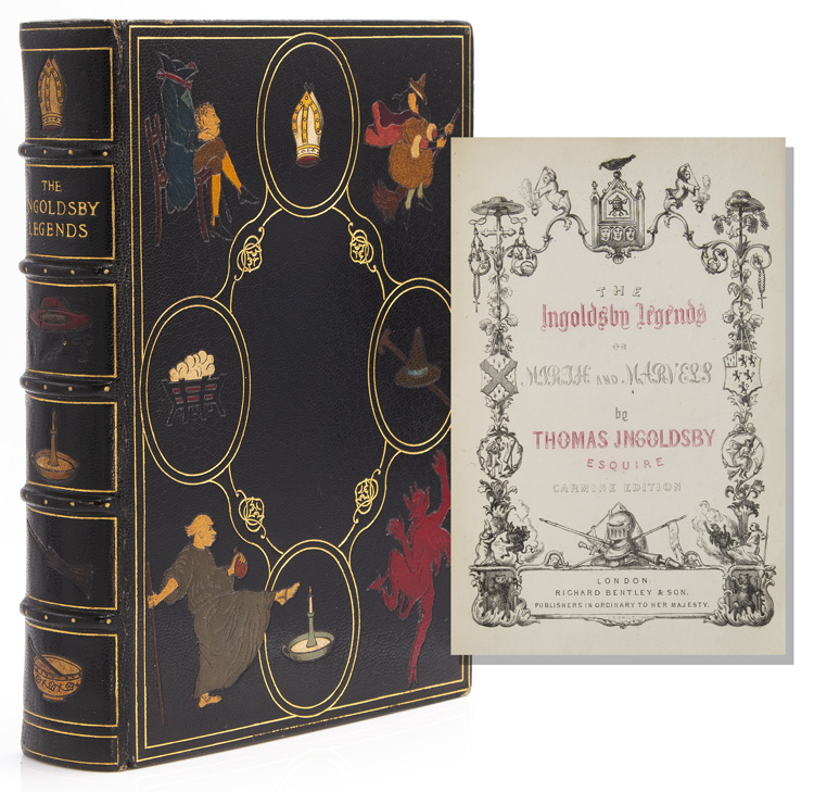 The Ingoldsby Legends or Mirth and Marvel. Thomas Ingoldsby, pseud. of R. H. Barham.