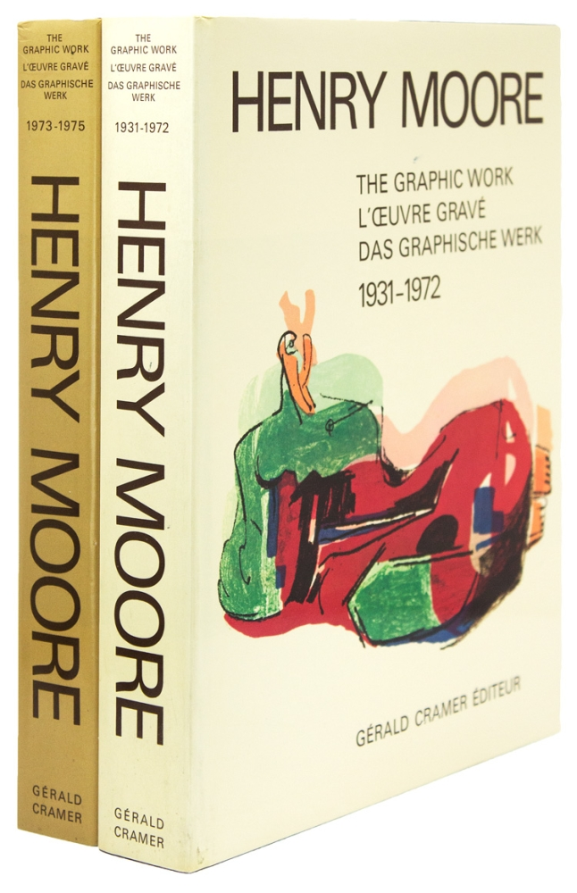 Henry Moore: Catalogue of Graphic Work, Volume I: 1931-1972 and Volume II: 1973-1975. Henry Moore, Gérald Cramer.