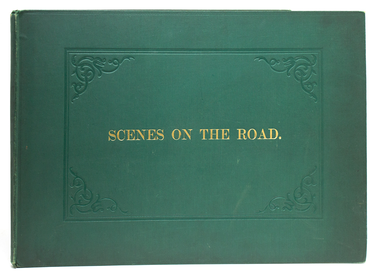 [Scenes on the Road]-cover title. Coaching, C. B. Newhouse.