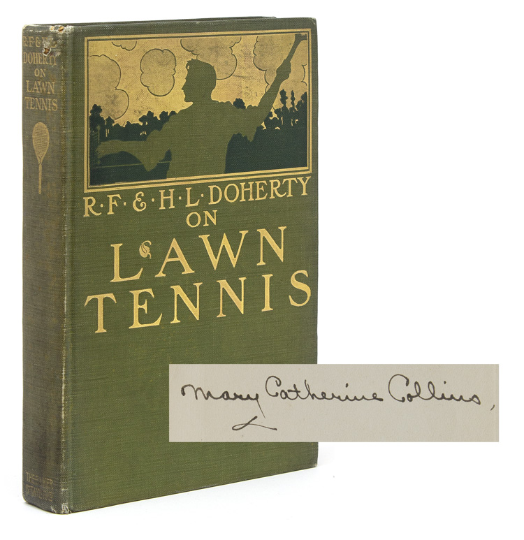 On Lawn Tennis: The Game of Nations. R. F. Doherty, H L.