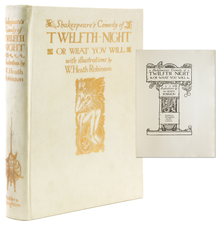 Shakespeare's Comedy of Twelfth Night, or What You Will. William Shakespeare.
