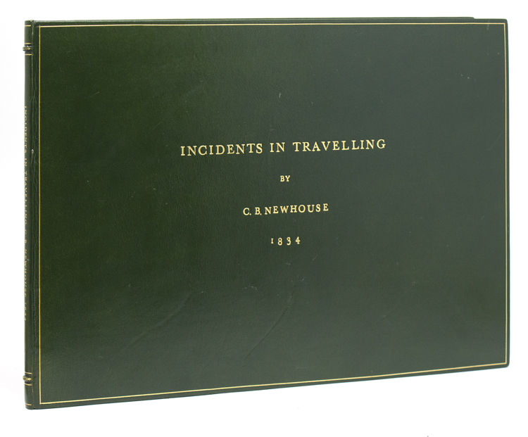 Incidents in Travelling. Coaching, C. B. Newhouse, c., harles.