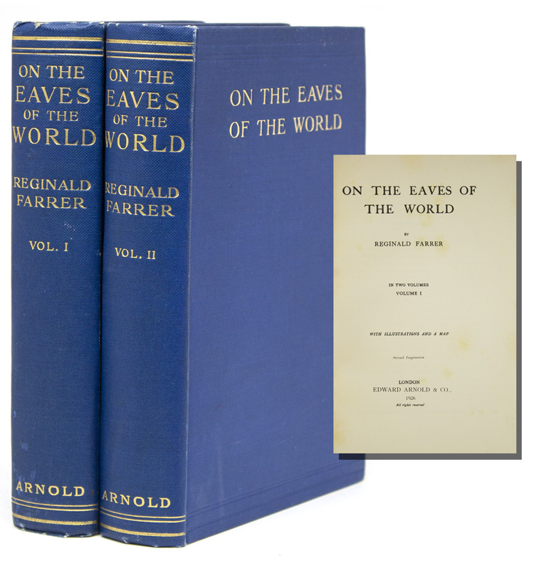 On the Eaves of the World. Reginald Farrer.