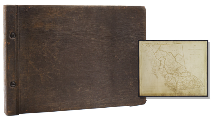 Typescript diary and photograph album of a 1915 hunting expedition to British Columbia. Richard Bullock.