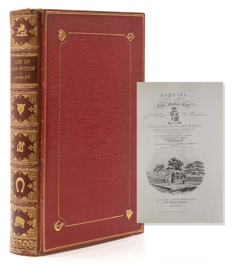 Memoirs of the Life of John Mytton. Charles James Apperley.