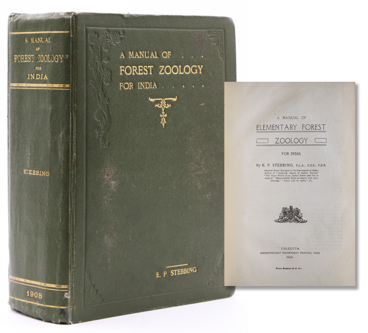 A Manual of Elementary Forest Zoology for India. E. P. Stebbing.