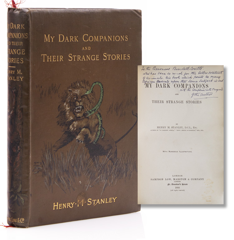 My Dark Companions and Their Strange Stories. Henry M. Stanley.