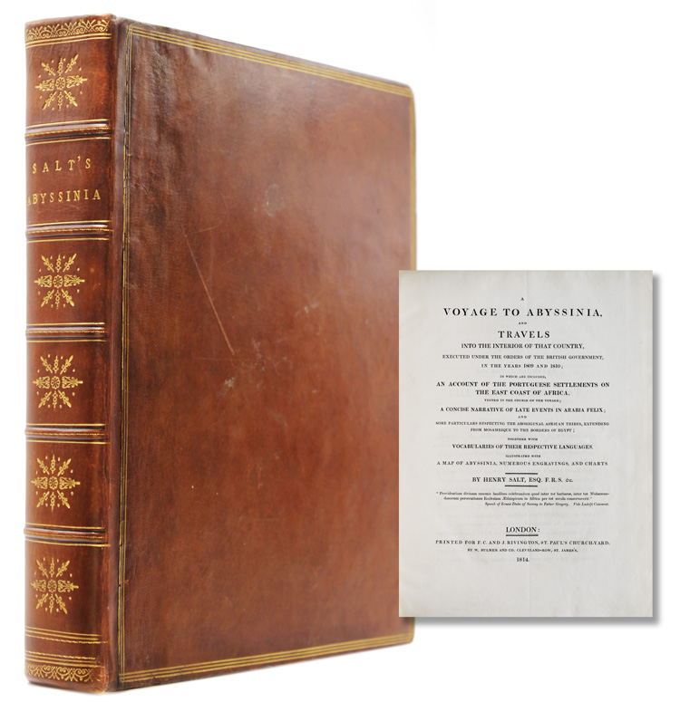 A Voyage to Abyssinia, and Travels into the Interior of that Country, Executed in the Years 1809 and 1810. Henry Salt.