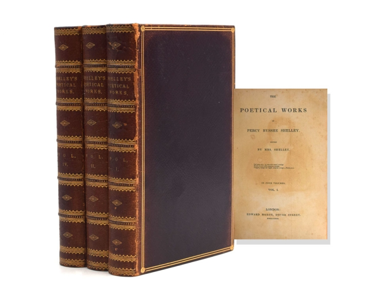 The Poetical Works of Percy Bysshe Shelley. Edited by Mrs. Shelley. Shelley, sshe.