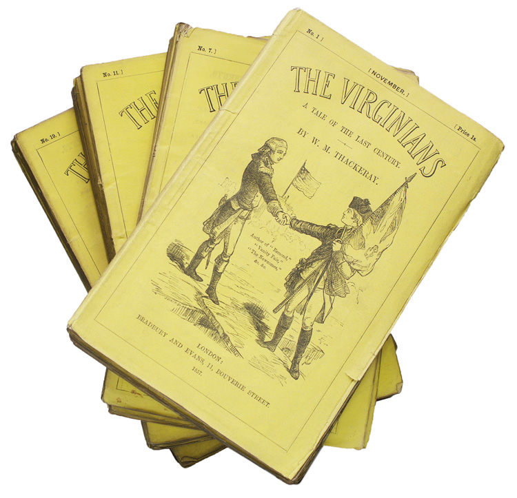 The Virginians. A Tale of the Last Century. William Makepeace Thackeray.