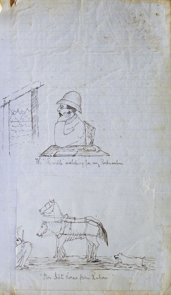 Manuscript record of the travels and hunting adventures of Giles Graeme. Giles Graeme.