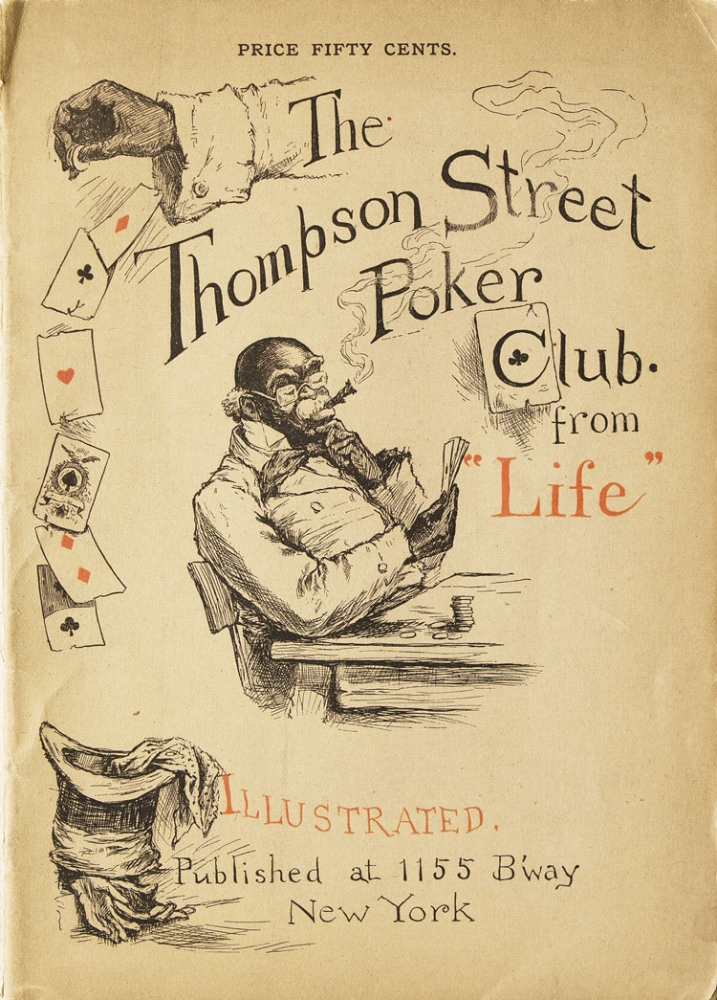 "The Thompson Street Poker Club from ""Life"" Henry Guy Carleton."