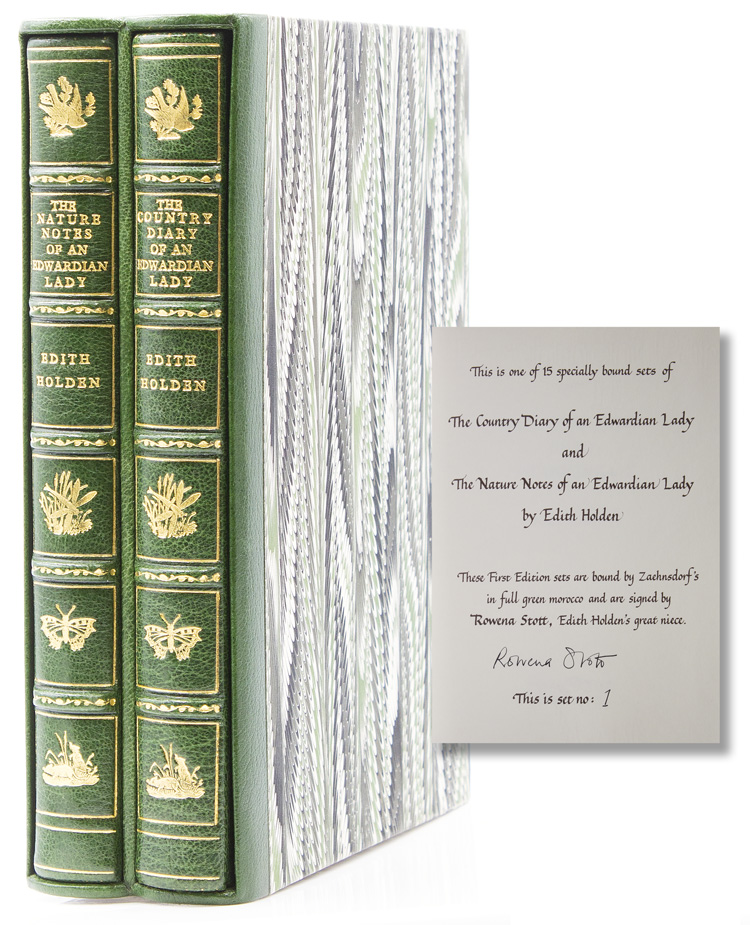 The Nature Notes of an Edwardian Lady, and the Country Diary of an Edwardian Lady. Edith Holden.