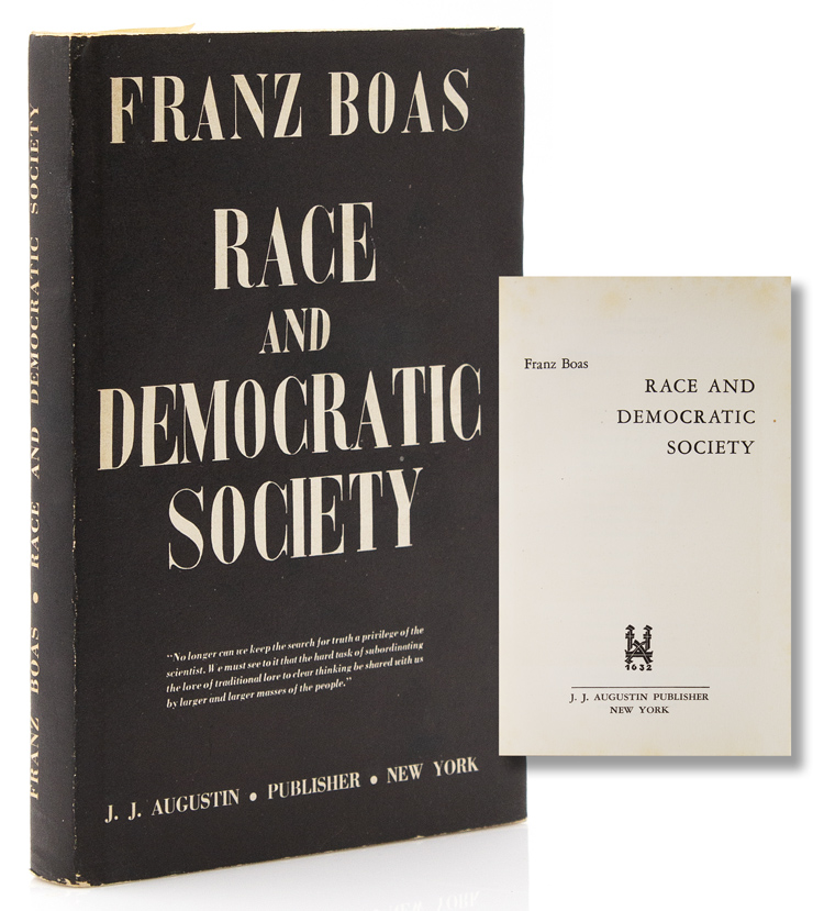 Race and Democatric Society. Franz Boas.