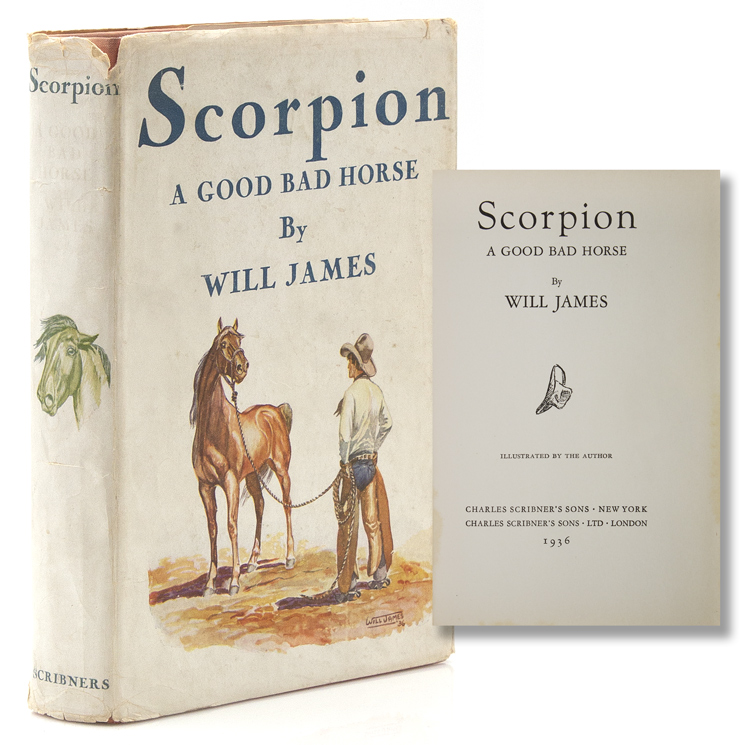 Scorpion. A Good Bad Horse. Will James.