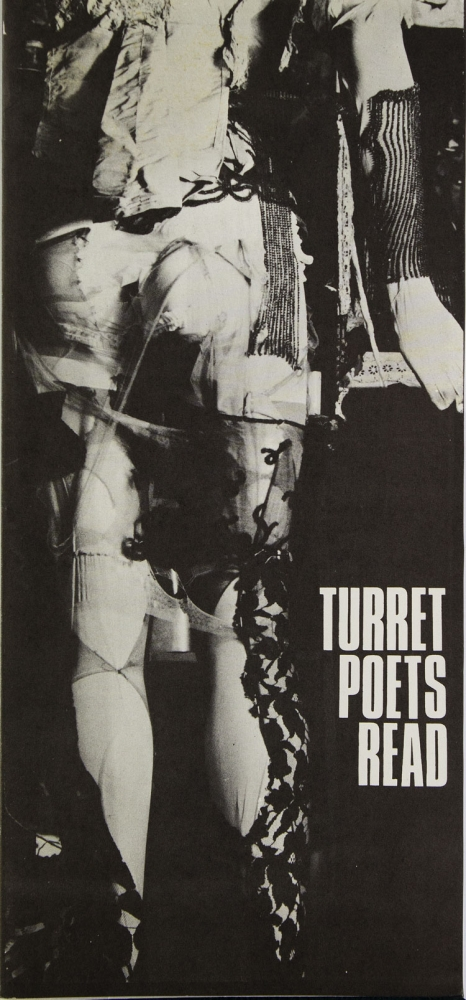 Turret Poets Read. George Macbeth, Edward Lucie-Smith, Christopher Logue, Jeff, NuttalL, Kevin Crossley-Holland.