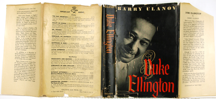 Duke Ellington. Barry Ulanov.