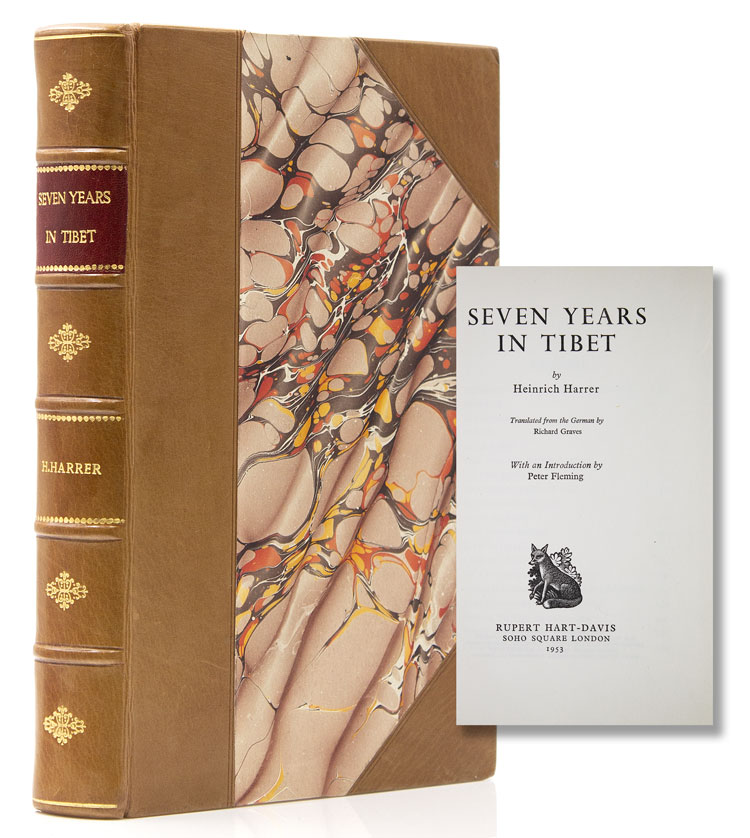 Seven Years in Tibet. Translated from German by Richard Graves. With an introduction by Peter Fleming. Heinrich Harrer.