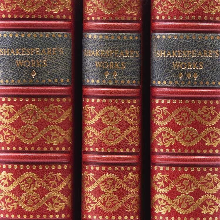 The Complete Works of William Shakespeare. Comedies, Histories and Tragedies...Life by Charles Knight. William Shakespeare.