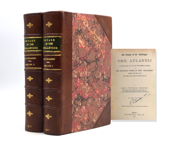The Voyage of the 'Challenger.' The Atlantic. A Preliminary Account of the general results of the Voyage during the year 1873 and the early part of the year 1876. Sir C. Wyville Thomson.